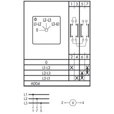 Переключатель CA10 A004-600 E
