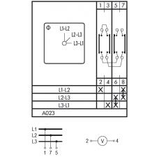 Переключатель CA10 A023-600 E