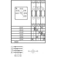Переключатель CA10 A025-600 E