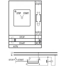 Переключатель C32 A176-600 E