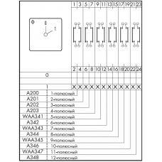 Переключатель C125 A201-600 E