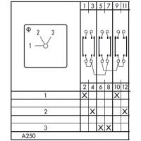 Переключатель CAD11 A250-600 E