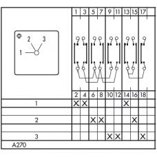 Переключатель C125 A270-600 E