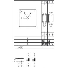 Переключатель C125 A312-600 E