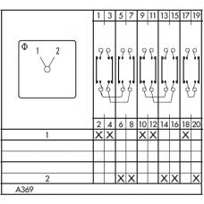 Переключатель C125 A369-600 E