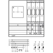 Переключатель C125 A419-600 E
