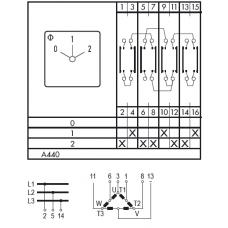Переключатель C125 A440-600 E