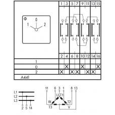 Переключатель C125 A441-600 E