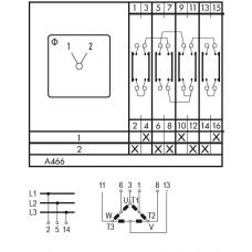 Переключатель C32 A466-600 E