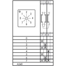 Переключатель CA10 A540-600 E
