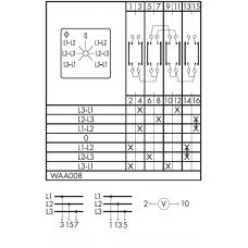 Переключатель CA10-WAA008-600 E