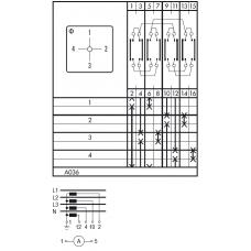 Переключатель C26-WAA036-600 E