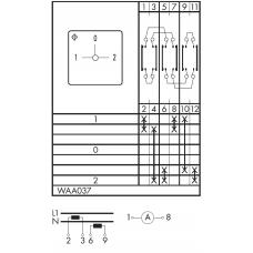 Переключатель C125-WAA037-600 E