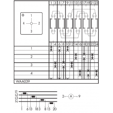 Переключатель C125-WAA039-600 E