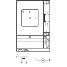 Переключатель C125-WAA046-600 E
