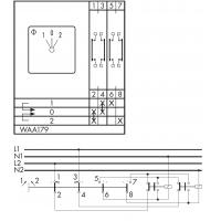 Переключатель CG8-WAA179-600 E