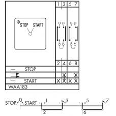 Переключатель C26-WAA183-600 E