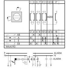 Переключатель CA10-WAA190-600 E