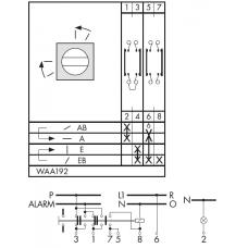 Переключатель CA10-WAA192-600 E