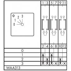 Переключатель C125-WAA313-600 E