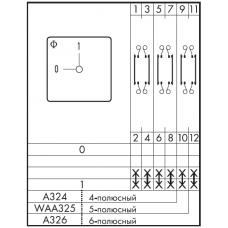 Переключатель CA10-1-WAA325-600 E