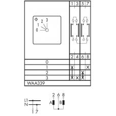 Переключатель C125-WAA339-600 E