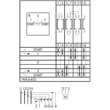 Переключатель C26-WAA402-600 E