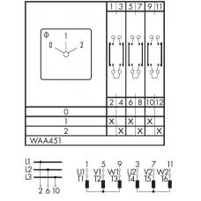 Переключатель C125-WAA451-600 E