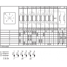 Переключатель C26-WAA468-600 E