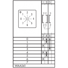 Переключатель CA10-WAA541-600 E