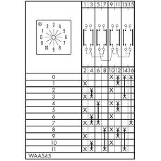 Переключатель CA10-WAA545-600 E