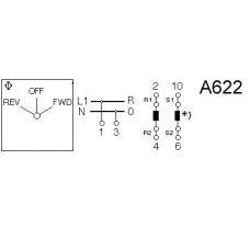 Переключатель C125-WAA622-600 E